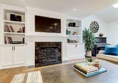 136 Trelawn Avenue Oakville | Living-Room-(Fireplace-2)