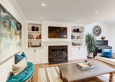 136 Trelawn Avenue Oakville | Living-Room-(Fireplace)