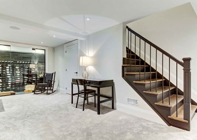 136 Trelawn Avenue Oakville | Lower-Level-(Rec-Room-and-Stairs)